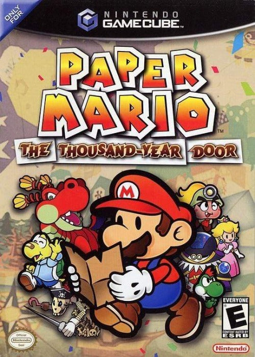 Paper Mario The Thousand Year Door Nintendo GameCube - Gandorion Games