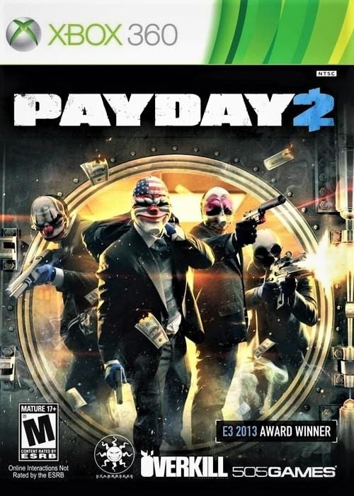 Payday 2 Xbox 360 - Gandorion Games