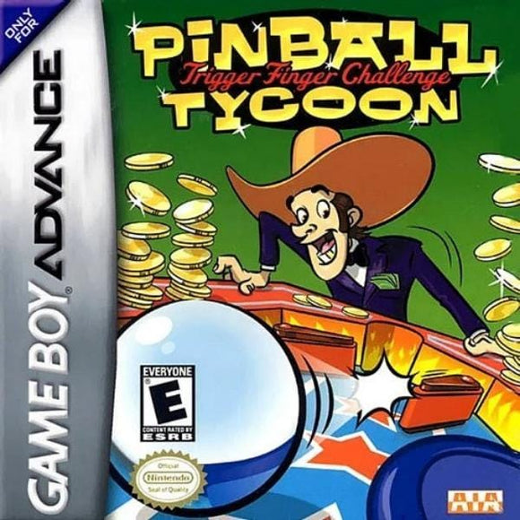 Pinball Tycoon Nintendo Game Boy Advance - Gandorion Games