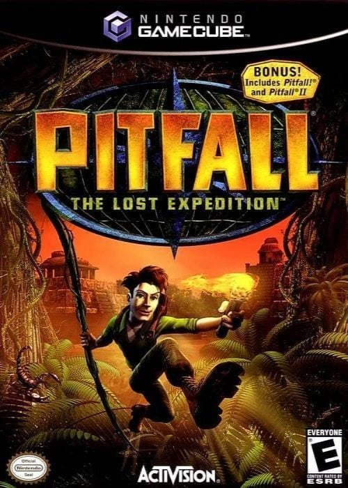 Pitfall: The Lost Expedition Nintendo GameCube - Gandorion Games