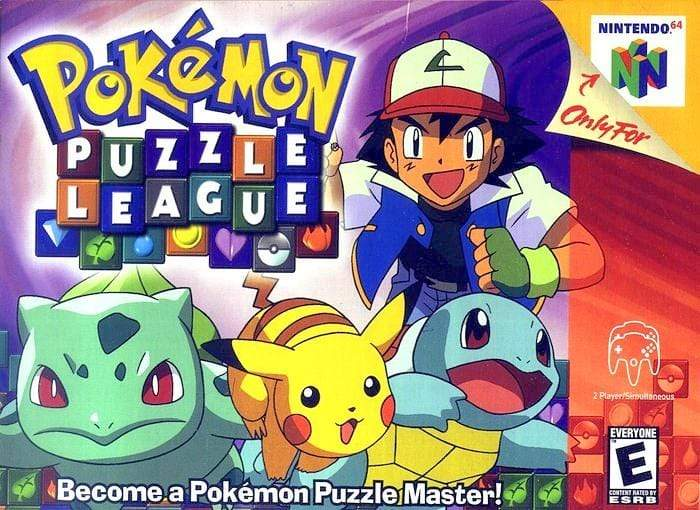 Pokemon Puzzle League Nintendo 64 - Gandorion Games