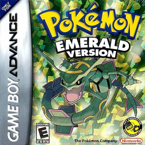 Pokemon Emerald Version Nintendo Game Boy Advance - Gandorion Games