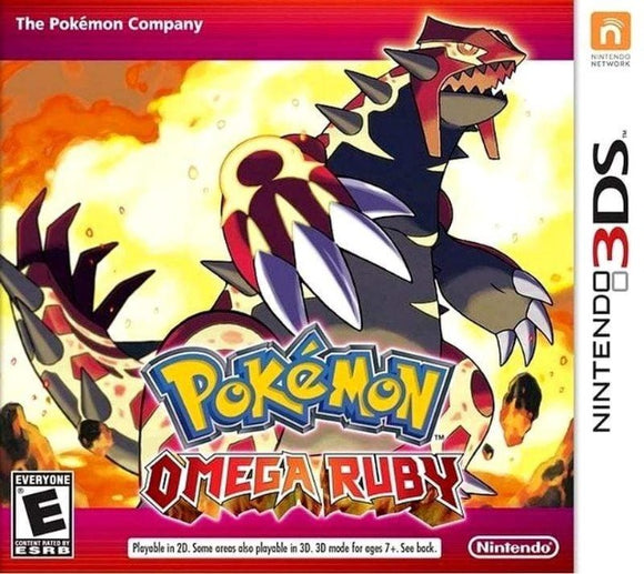 Pokemon Omega Ruby Nintendo 3DS - Gandorion Games