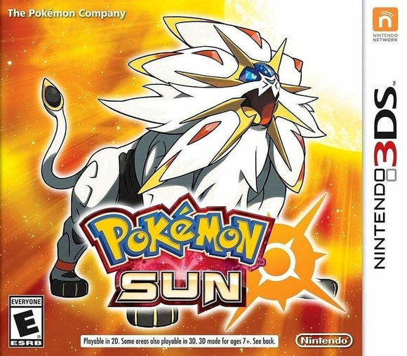 Pokemon Sun Nintendo 3DS - Gandorion Games