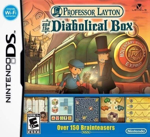 Professor Layton And The Diabolical Box Nintendo DS - Gandorion Games