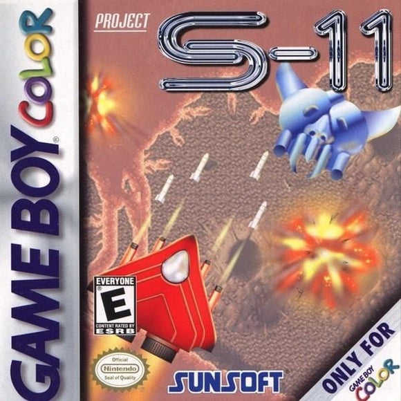 Project S-11 Nintendo Game Boy Color Game - Gandorion Games