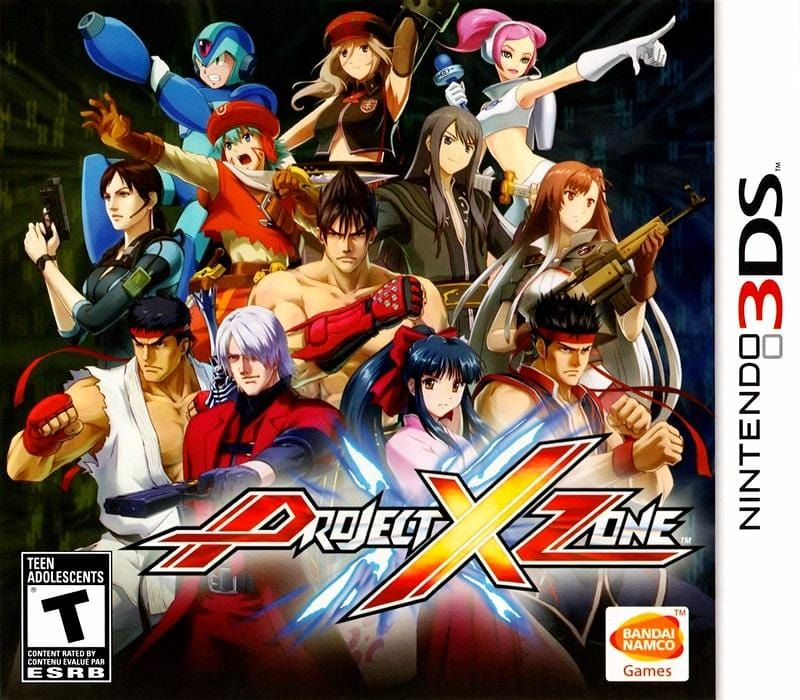 Project X Zone Nintendo 3DS - Gandorion Games