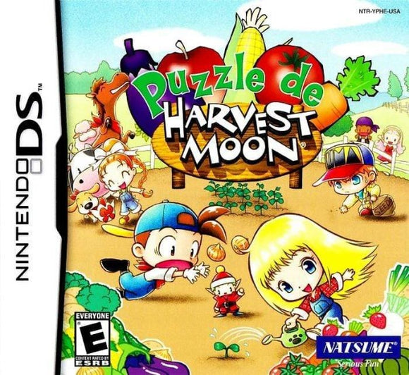 Puzzle de Harvest Moon Nintendo DS Game - Gandorion Games