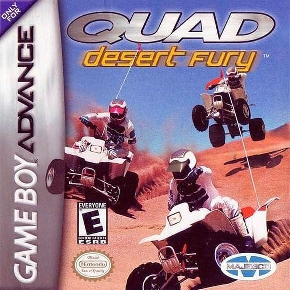 Quad Desert Fury Nintendo Game Boy Advance GBA - Gandorion Games