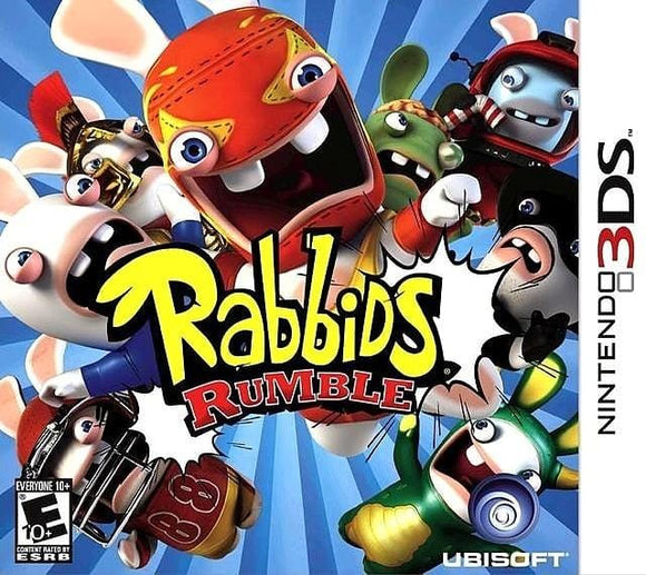 Rabbids Rumble Nintendo 3DS Game - Gandorion Games
