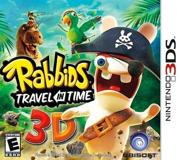 Rabbids Travel in Time 3D Nintendo 3DS Game - Gandorion Games