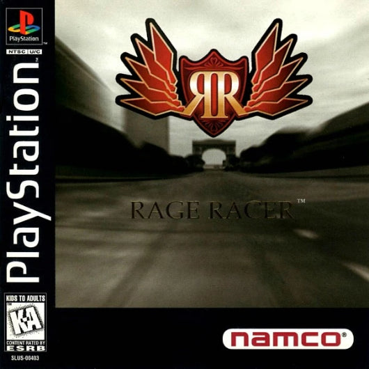Rage Racer PlayStation Game - Gandorion Games