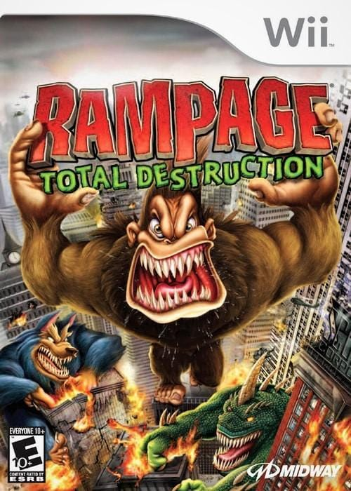 Rampage Total Destruction Nintendo Wii - Gandorion Games