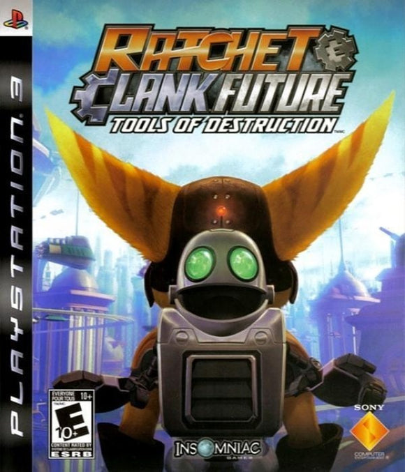 Ratchet and Clank Future Tools of Destruction Sony PlayStation 3 Game - Gandorion Games