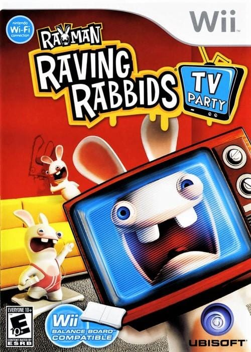 Rayman Raving Rabbids TV Party Nintendo Wii Game - Gandorion Games