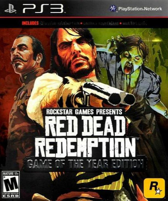 Red Dead Redemption: Game of the Year Edition Playstation 3 Game - Gandorion Games
