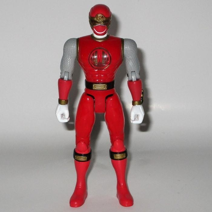 Red Mighty Morphin Power Ranger Bandai 2002 - Gandorion Games