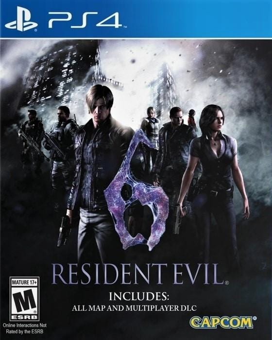 Resident Evil 6 - Sony PlayStation 4 Game