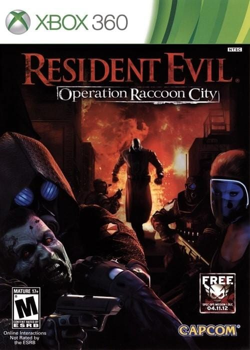 Resident Evil Operation Raccoon City Microsoft Xbox 360 Game - Gandorion Games