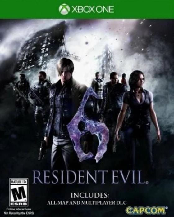 Resident Evil 6 Xbox One Game - Gandorion Games