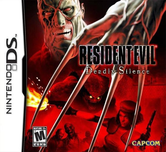 Resident Evil Deadly Silence Nintendo DS Game - Gandorion Games