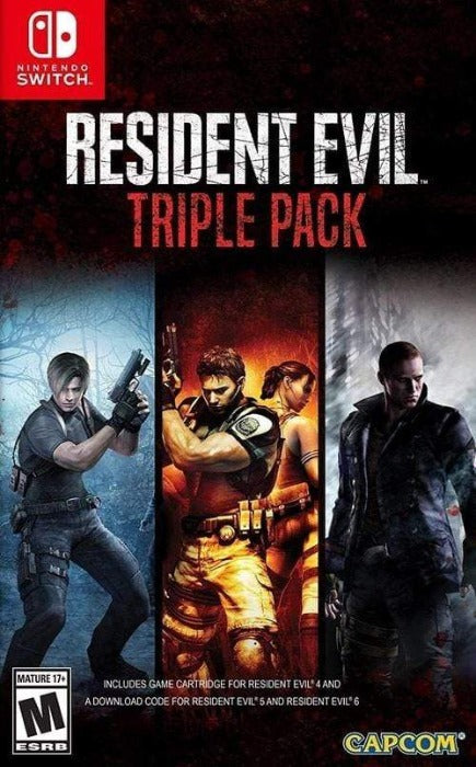 Resident Evil Triple Pack Nintendo Switch - Gandorion Games