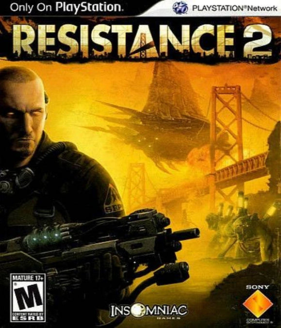 Resistance 2 PlayStation 3 - Gandorion Games