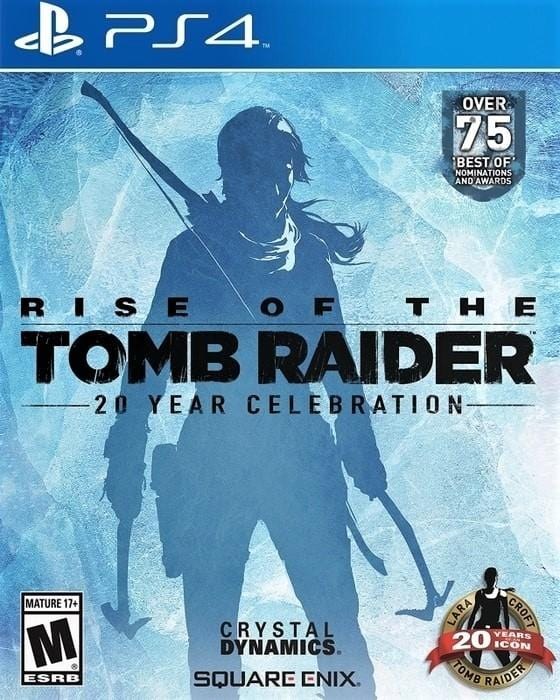 Rise of the Tomb Raider (20th Anniversary Celebration) Sony PlayStation 4 Game - Gandorion Games