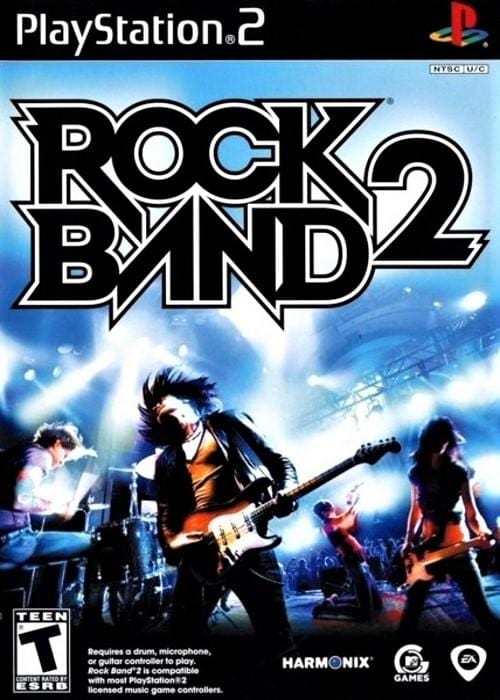 Rock Band 2 Sony PlayStation 2 - Gandorion Games