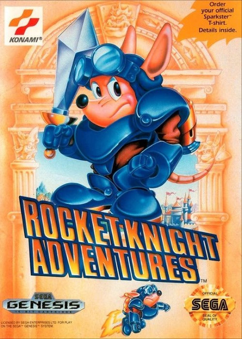 Rocket Knight Adventures Sega Genesis - Gandorion Games