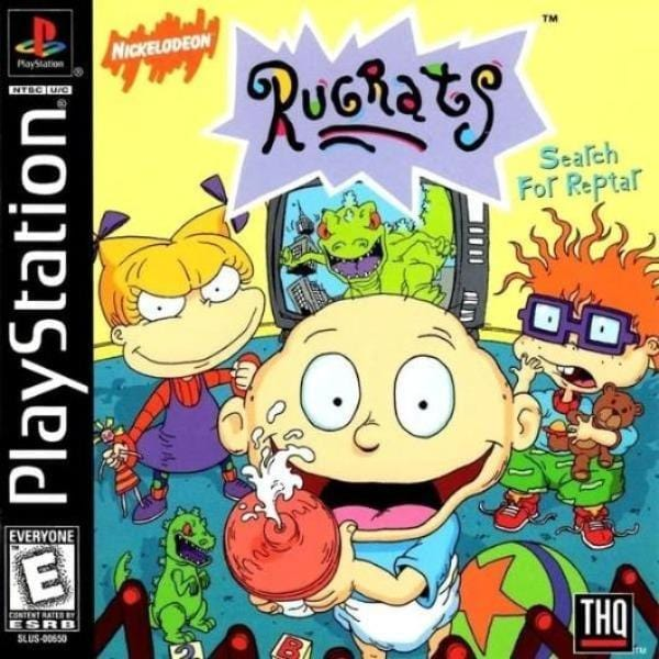 Rugrats Search for Reptar Sony PlayStation - Gandorion Games