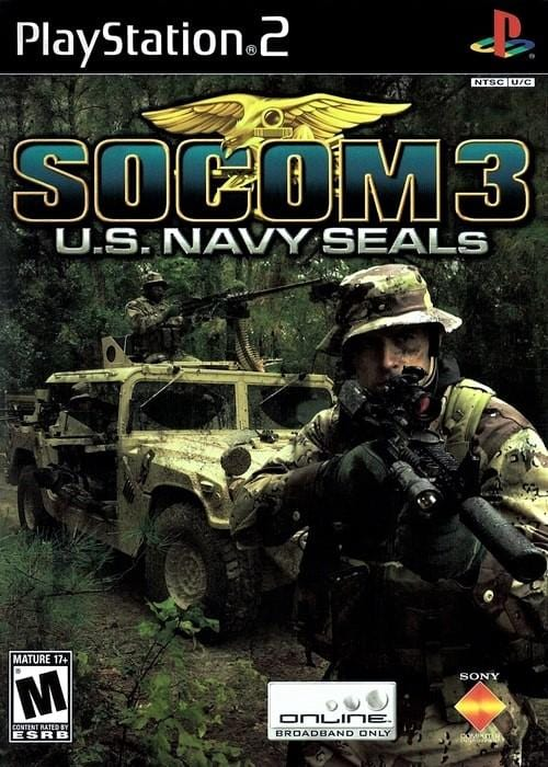 SOCOM 3 U.S. Navy SEALs Sony PlayStation 2 - Gandorion Games