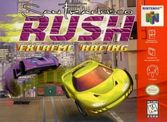 San Francisco Rush Extreme Racing Nintendo 64 - Gandorion Games