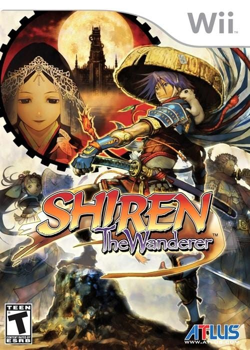Shiren the Wanderer Nintendo Wii Game - Gandorion Games
