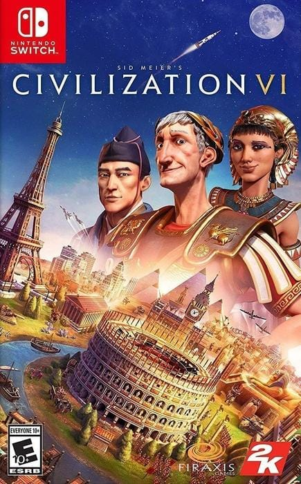 Sid Meier's Civilization VI Nintendo Switch - Gandorion Games
