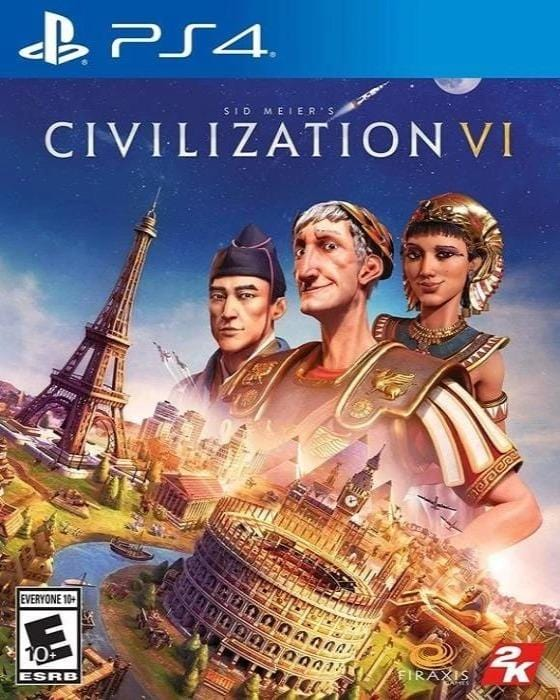 Sid Meier's Civilization VI Sony PlayStation 4 - Gandorion Games