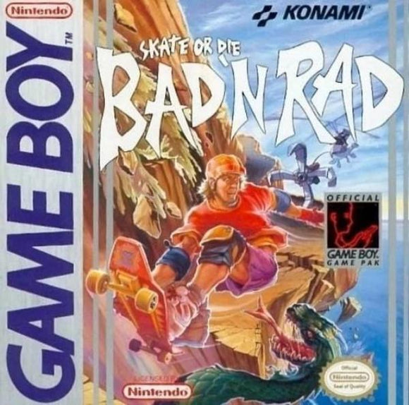 Skate or Die Bad & Rad Nintendo Game Boy - Gandorion Games