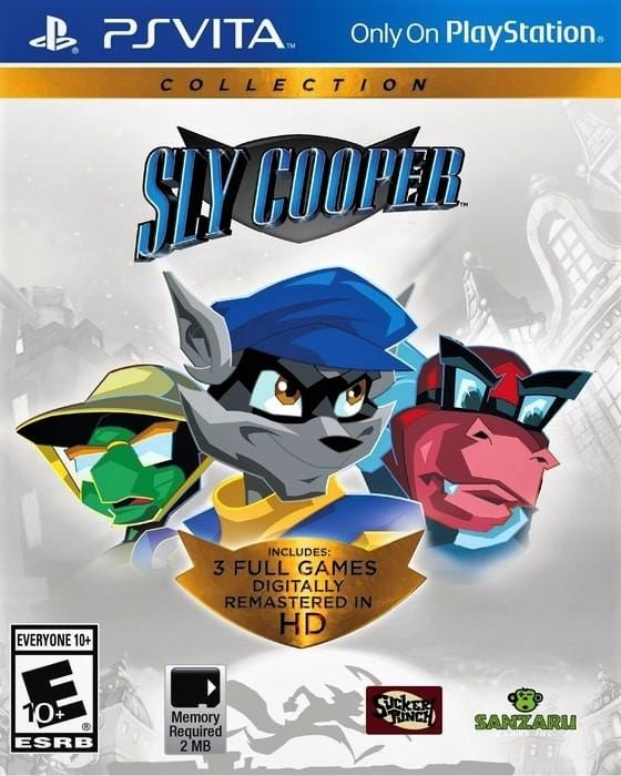 Sly Cooper Collection Sony PlayStation Vita - Gandorion Games