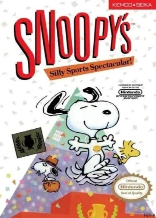 Snoopy's Silly Sports Spectacular Nintendo NES Game - Gandorion Games