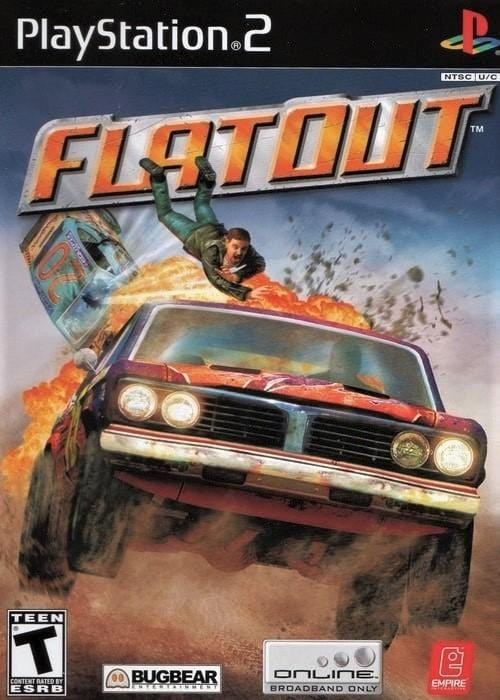 FlatOut Sony PlayStation 2 Game - Gandorion Games