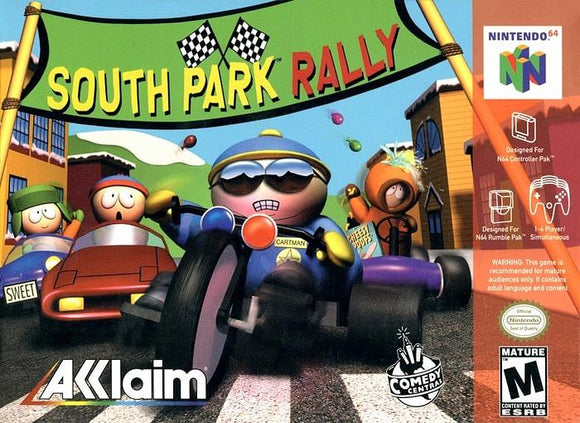 South Park Rally Nintendo 64 Game N64 - Gandorion Games