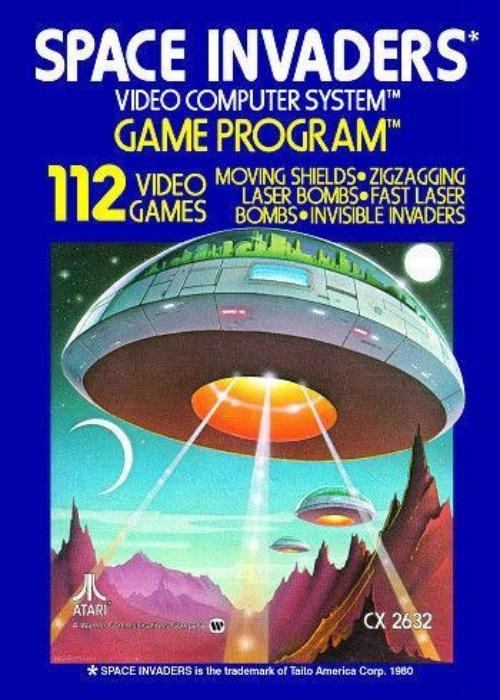Space Invaders Atari 2600 Game - Gandorion Games