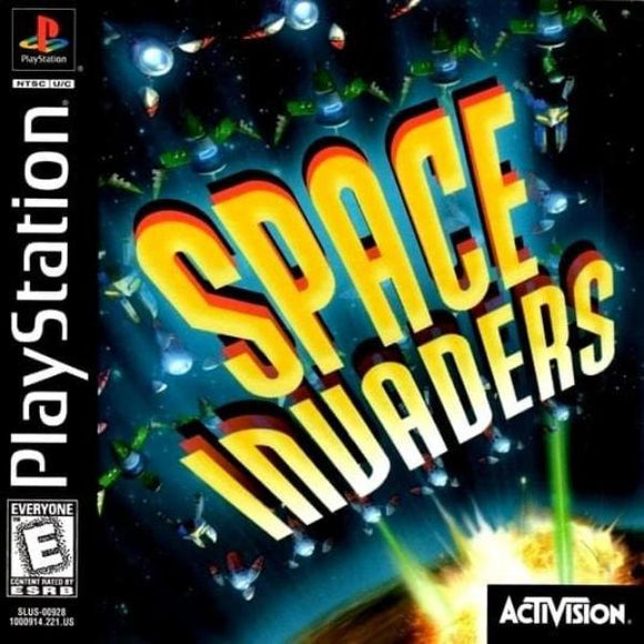 Space Invaders Sony PlayStation Game - Gandorion Games
