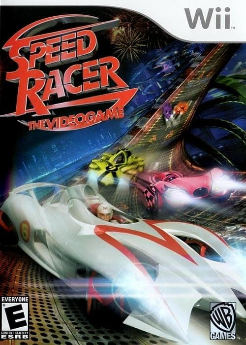 Speed Racer The Video Game Nintendo Wii - Gandorion Games