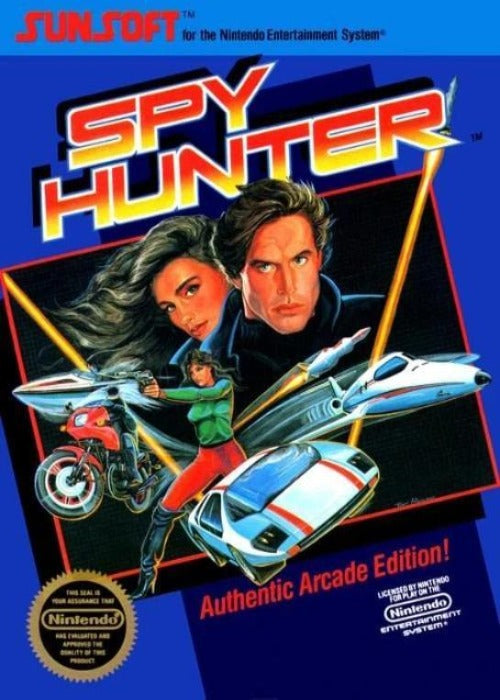 Spy Hunter Nintendo NES Game - Gandorion Games