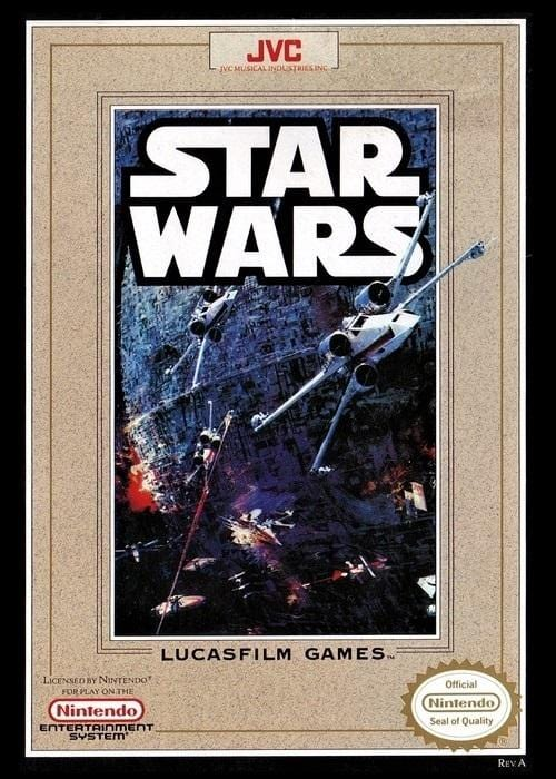 Star Wars Nintendo NES Game - Gandorion Games