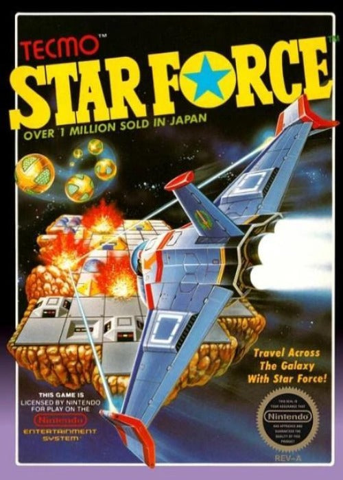 Star Force Nintendo NES - Gandorion Games