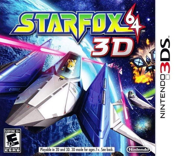 Star Fox 64 3D Nintendo 3DS - Gandorion Games