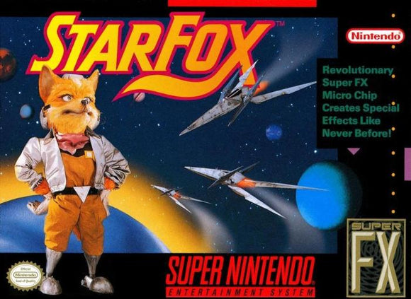 Star Fox Super Nintendo SNES - Gandorion Games