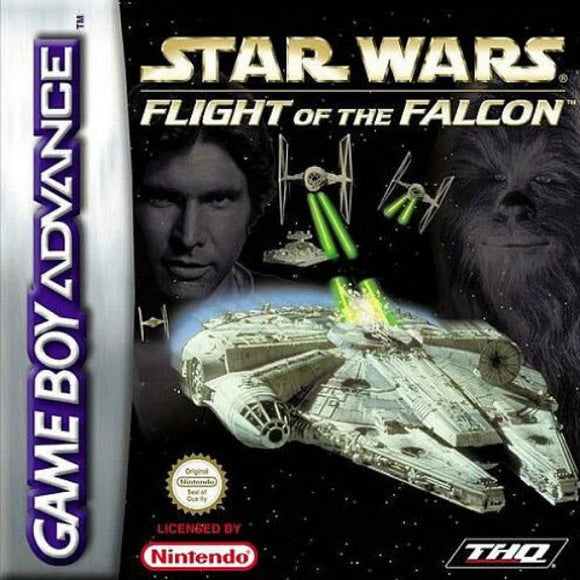 Star Wars: Flight of the Falcon Nintendo Game Boy Advance - Gandorion Games